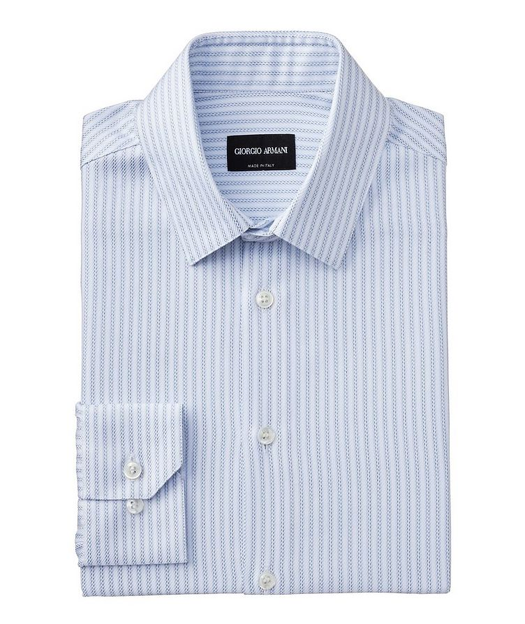 Contemporary Fit Striped Dress Shirt image 0