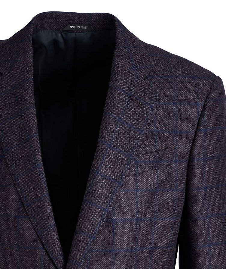 Soft Construction Checked Wool Sports Jacket image 1