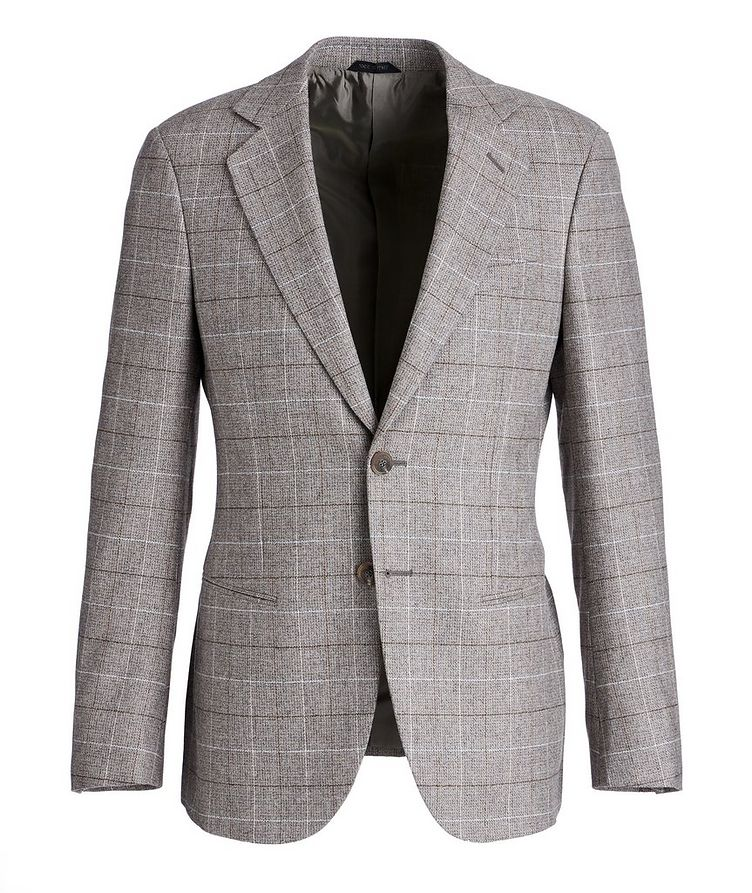 George Checked Wool-Cashmere Sports Jacket image 0