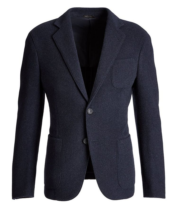 Unstructured Cashmere Sports Jacket image 0