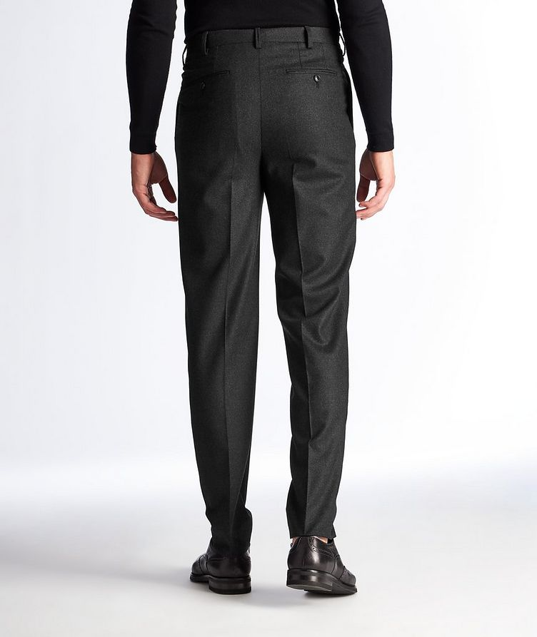 Slim Fit Stretch-Wool Dress Pants image 1