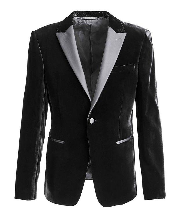 Velvet Tuxedo Jacket picture 1