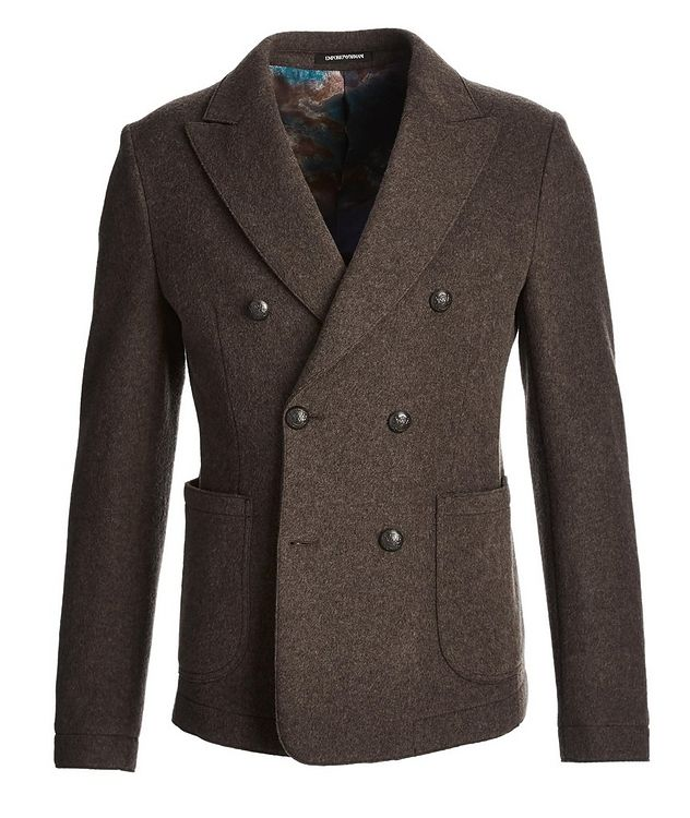 Double-Breasted Wool Jacket picture 1