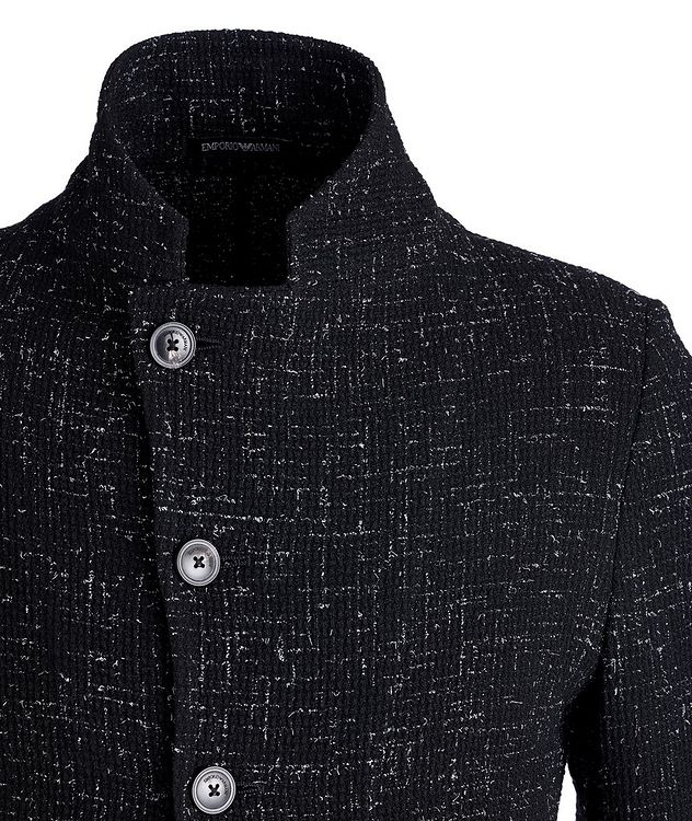 Unstructured Stretch-Wool Sports Jacket picture 2