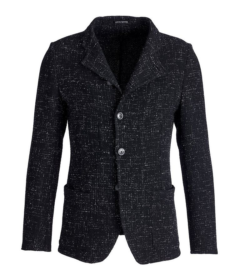 Unstructured Stretch-Wool Sports Jacket image 0