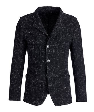 Emporio Armani Unstructured Stretch-Wool Sports Jacket