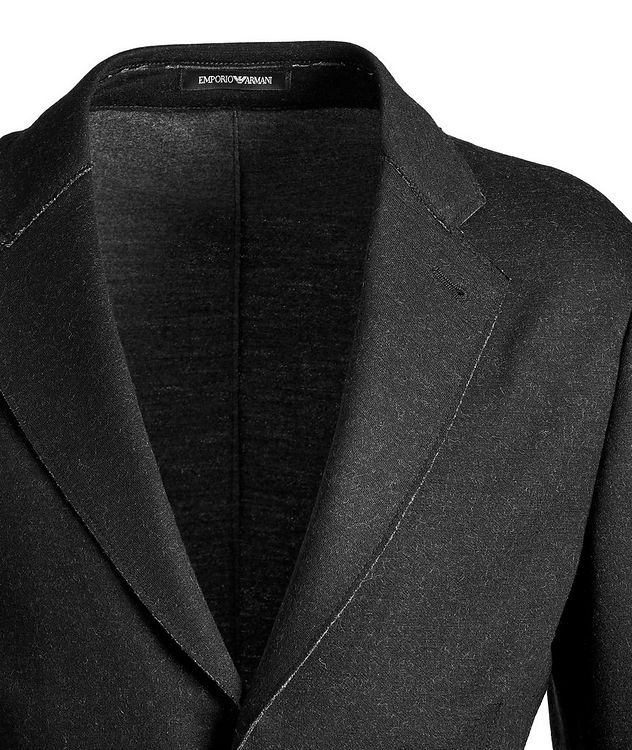 Unstructured Wool-Blend Sports Jacket picture 2