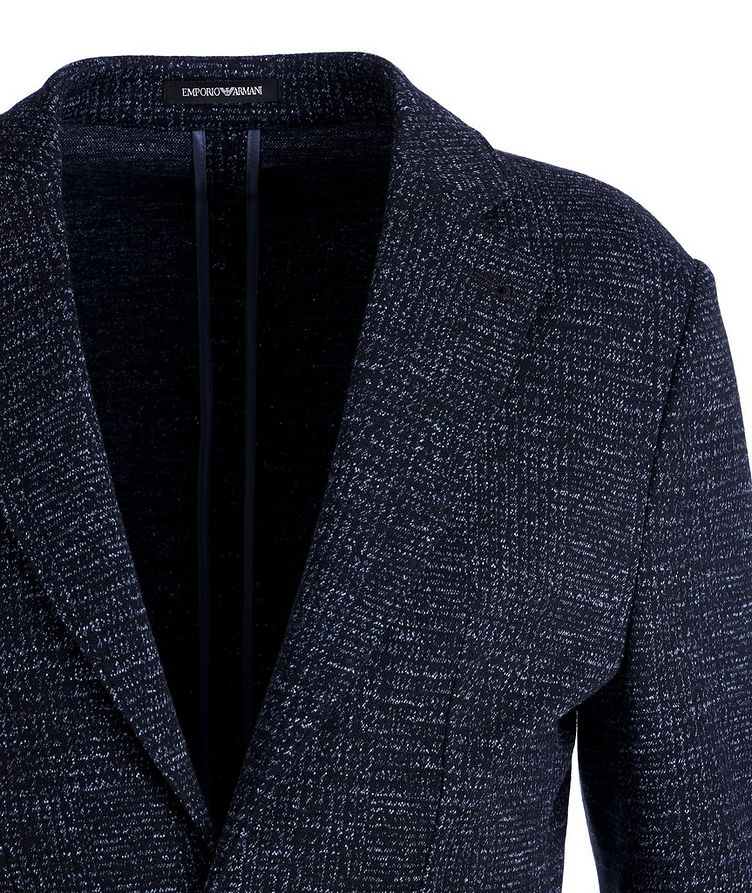 Unstructured Wool-Cotton Sports Jacket image 1