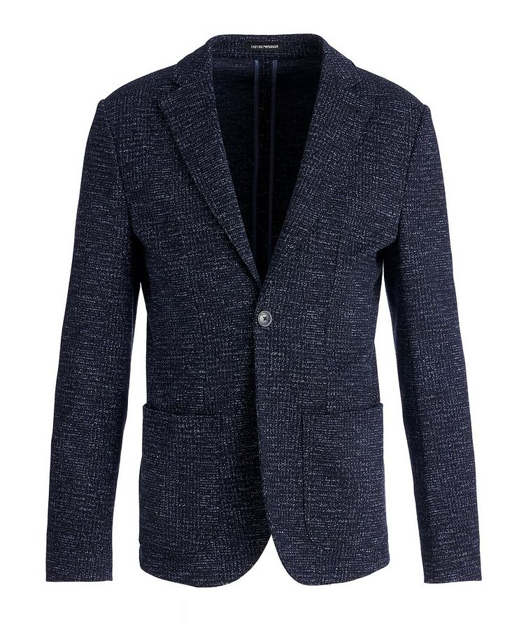 Unstructured Wool-Cotton Sports Jacket image 0