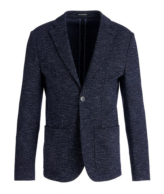 Unstructured Wool-Cotton Sports Jacket picture 1