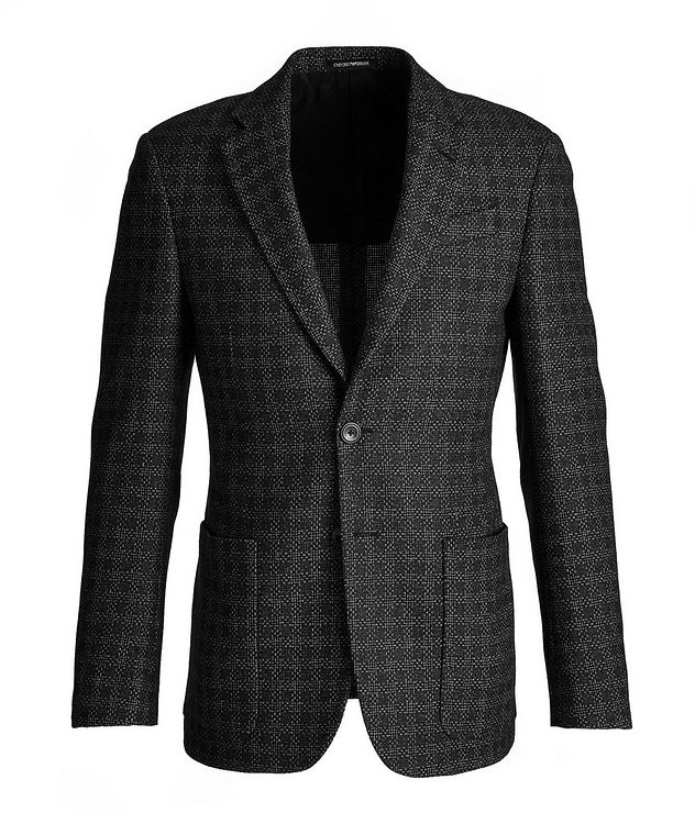 G-Line Deco Wool, Cotton, and Cashmere Sports Jacket picture 1
