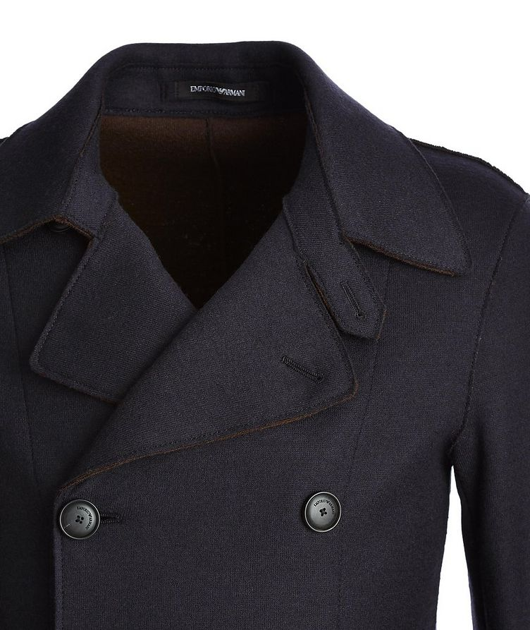 Double-Breasted Wool Jacket image 1