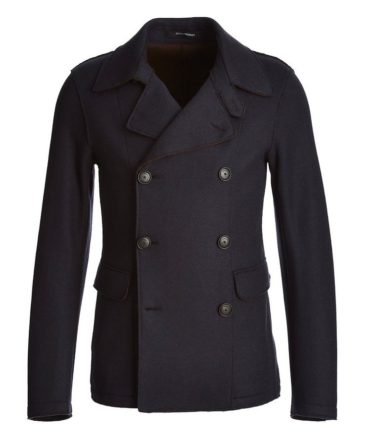 Double-Breasted Wool Jacket image 0