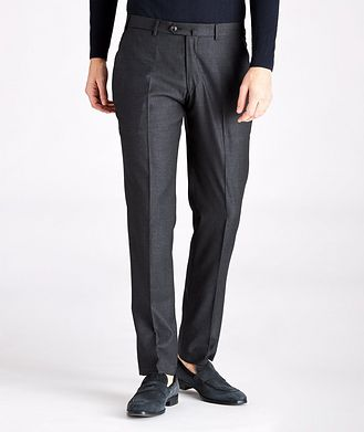 Emporio Armani Contemporary-Fit Wool Dress Pants