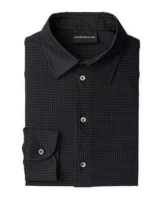 Emporio Armani Contemporary Fit Gingham Shirt
