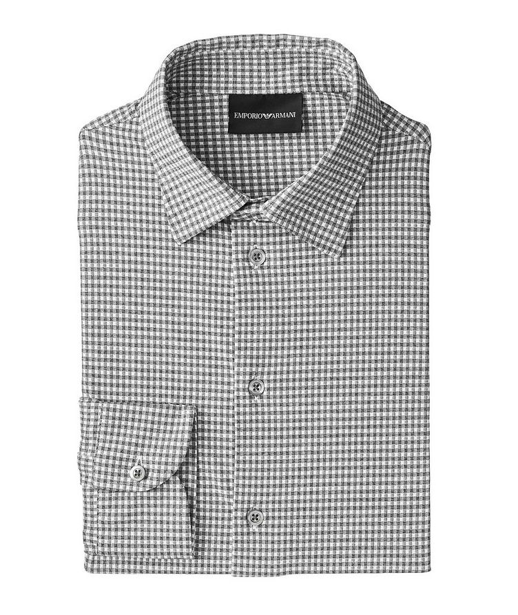 Contemporary Fit Gingham Shirt image 0