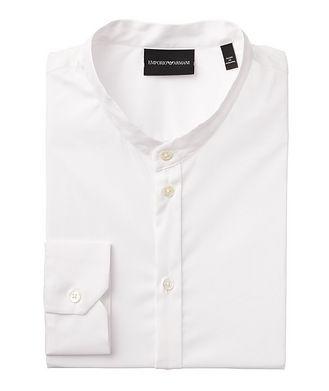 Emporio Armani Stretch-Cotton-Blend Shirt