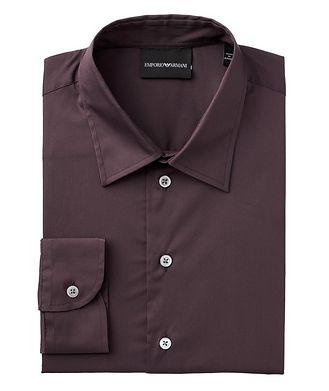 Emporio Armani Contemporary Fit Stretch-Cotton Sports Shirt