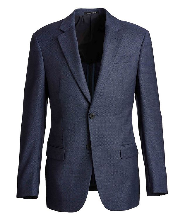 G-Line Deco Travel Stretch-Wool Suit picture 1