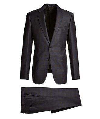 Emporio Armani M-Line Windowpane Suit