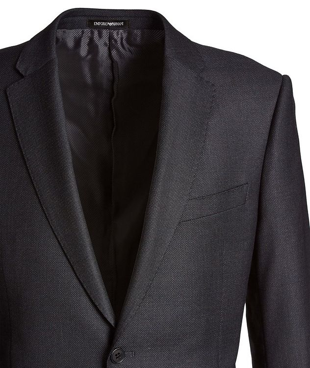 M-Line Bird's Eye Wool Suit picture 2