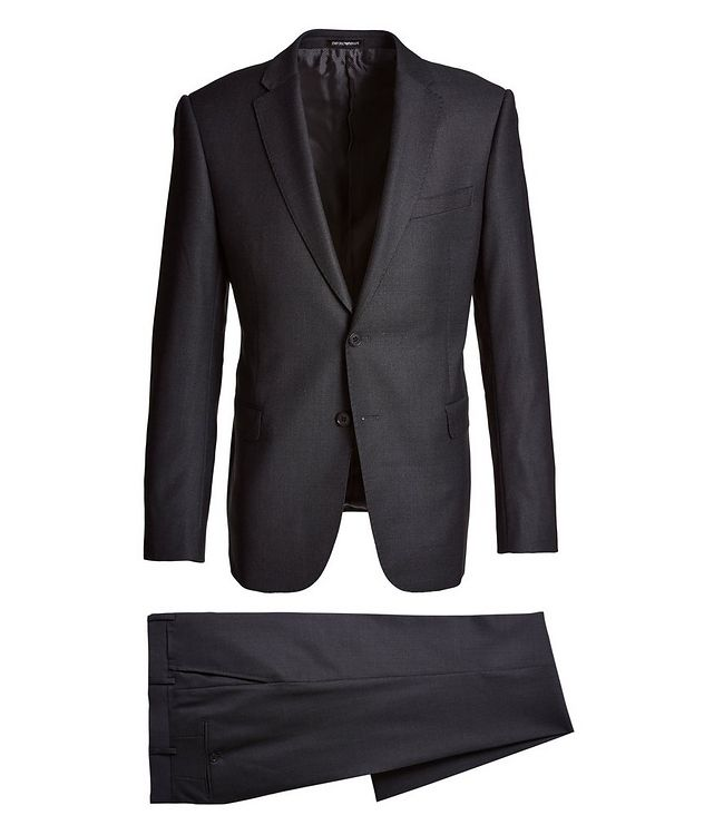 M-Line Bird's Eye Wool Suit picture 1
