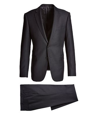 Emporio Armani M-Line Bird's Eye Wool Suit
