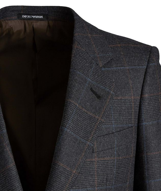 Savile Line Stretch-Wool Suit picture 3