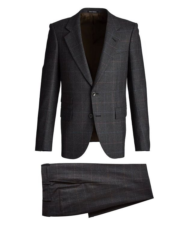 Savile Line Stretch-Wool Suit picture 1