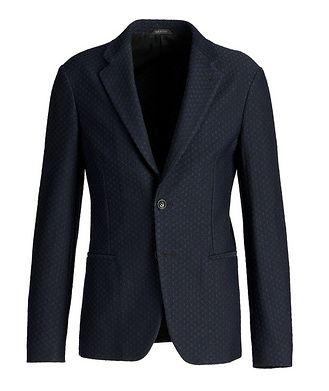 Giorgio Armani Woven Jersey Sports Jacket