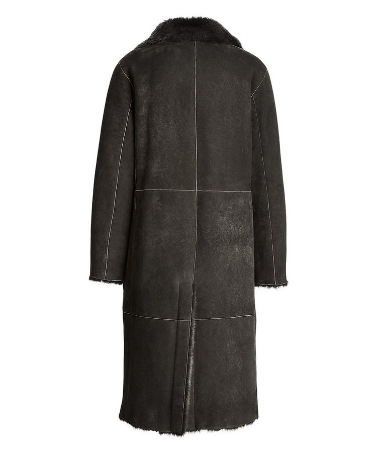 Suede-Shearling Coat image 1