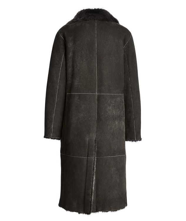 Suede-Shearling Coat picture 2