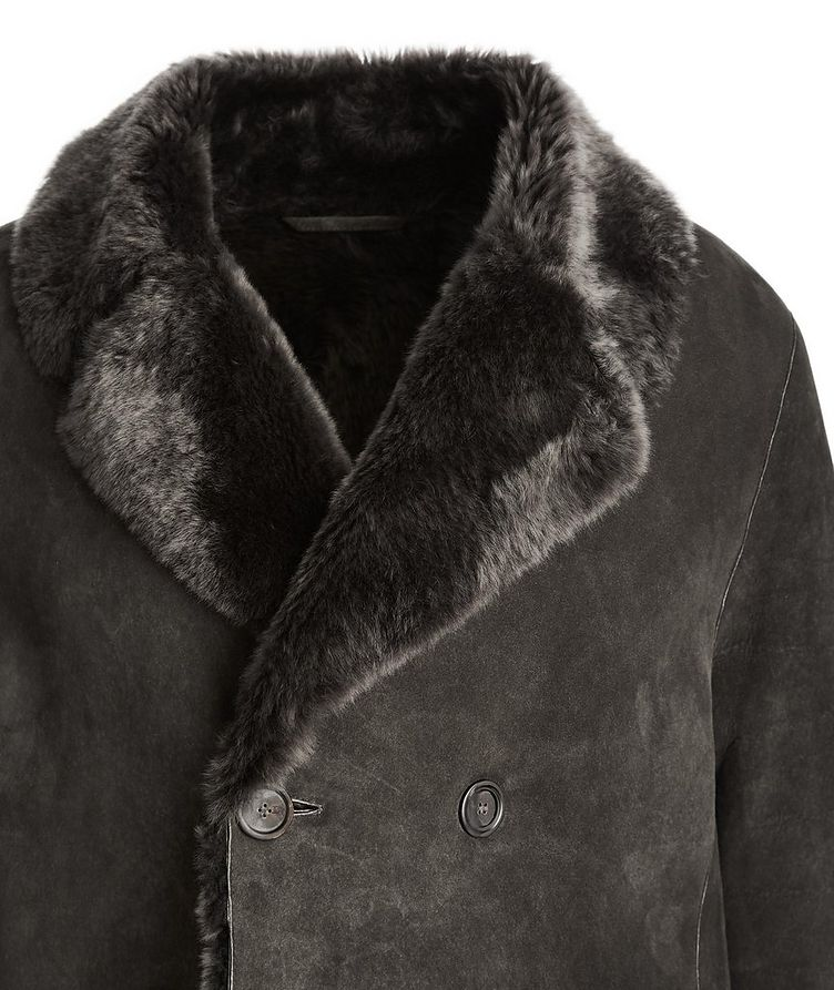 Suede-Shearling Coat image 2