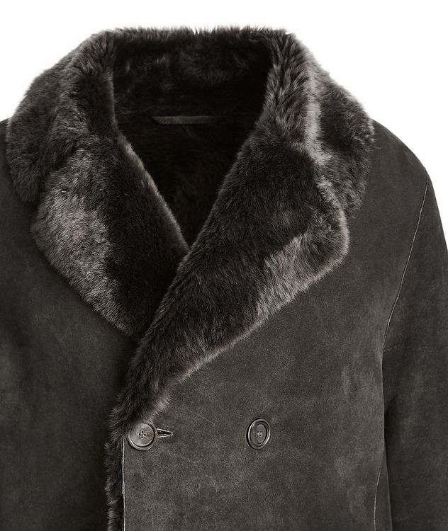 Suede-Shearling Coat picture 3