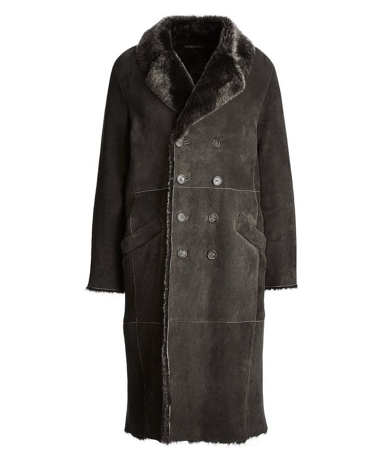 Suede-Shearling Coat image 0