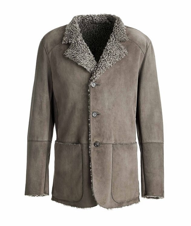 Suede and Shearling Jacket picture 1