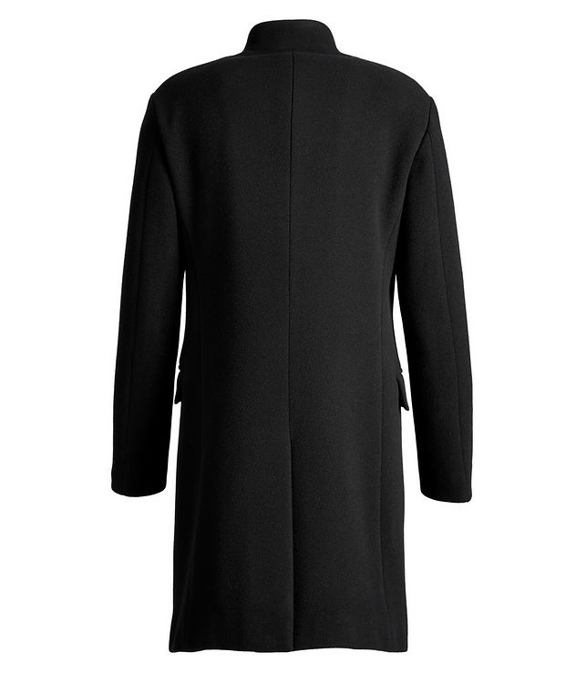 Virgin Wool-Blend Overcoat picture 2