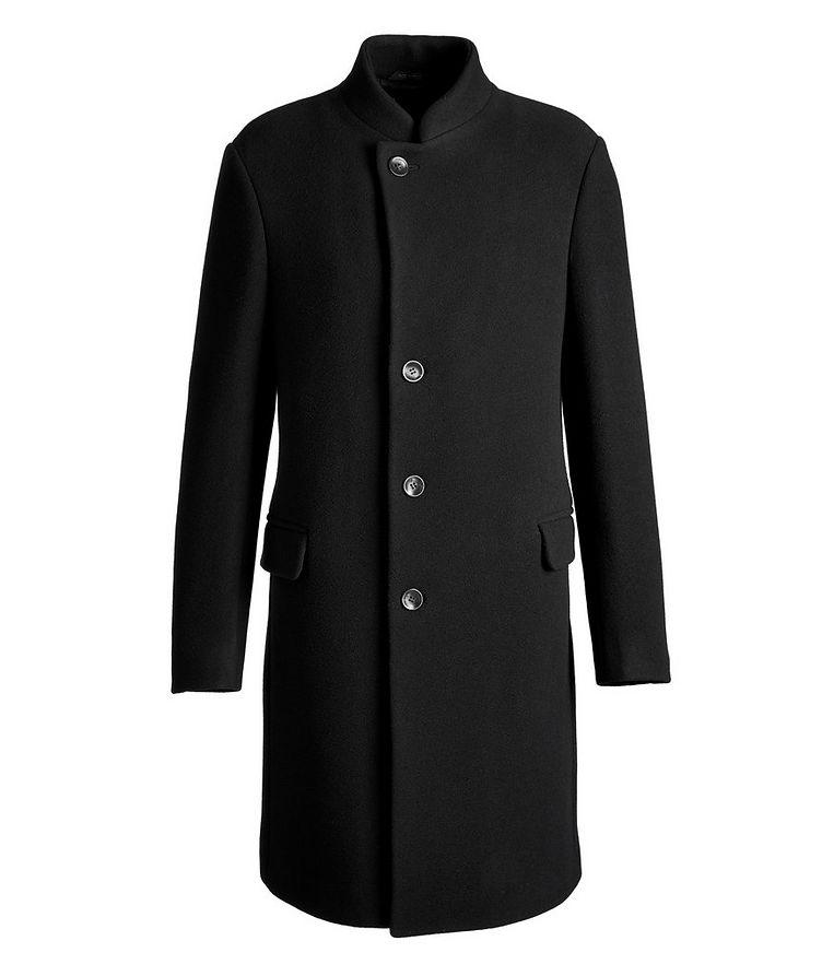 Virgin Wool-Blend Overcoat image 0