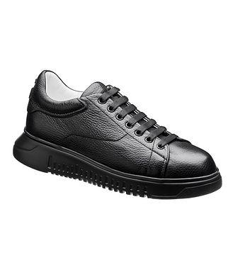 Emporio Armani Leather Sneakers