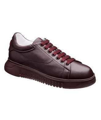 Emporio Armani Leather Sneakers