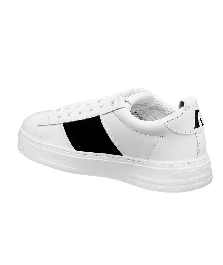 Leather and Suede Sneakers image 1