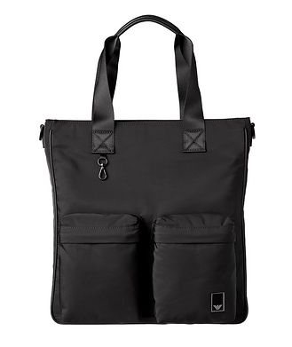 Emporio Armani Nylon Travel Tote Bag