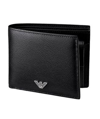 Emporio Armani Leather Bifold Wallet