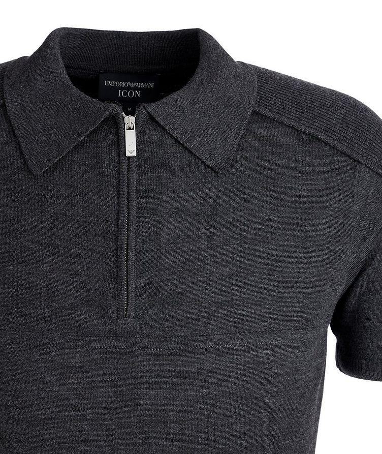 Icon Half-Zip Wool Polo image 2