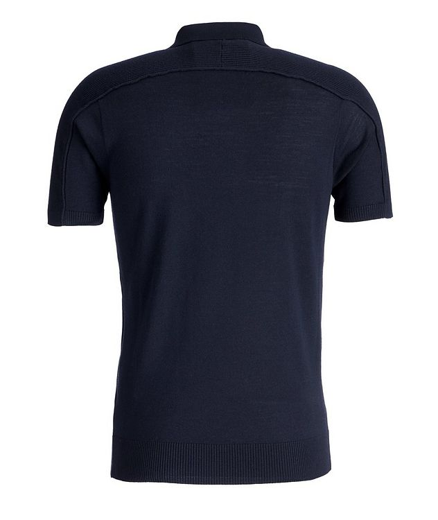 Icon Half-Zip Wool Polo picture 2