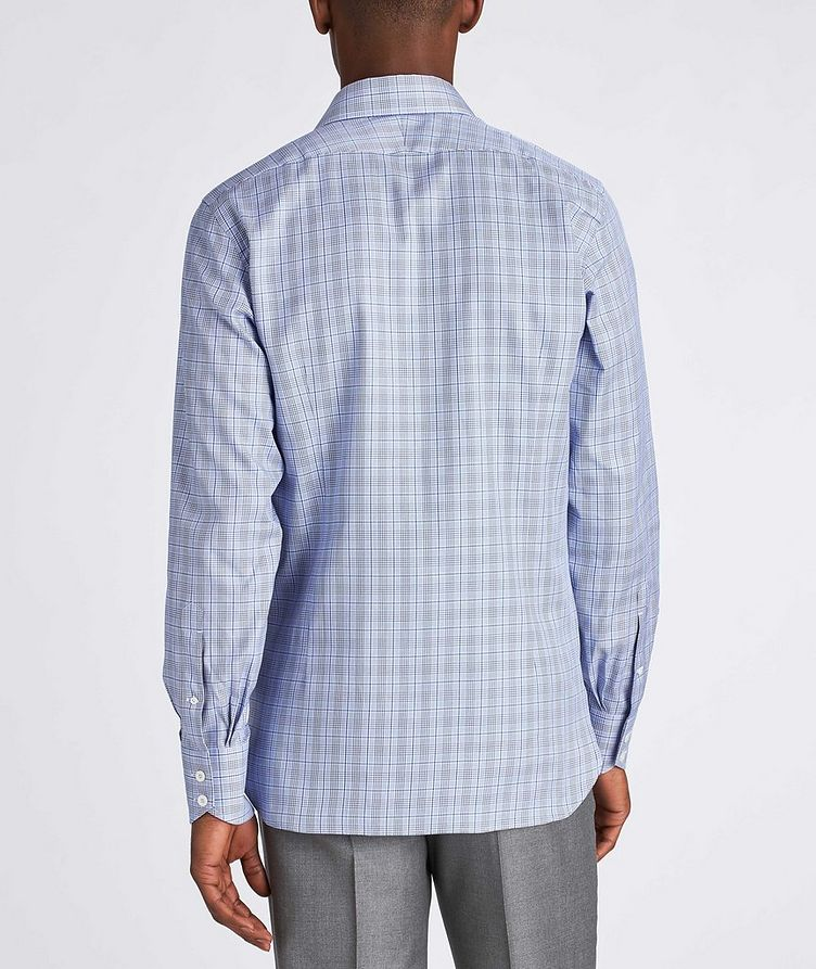 Slim Fit Glen-Checked Dress Shirt image 2