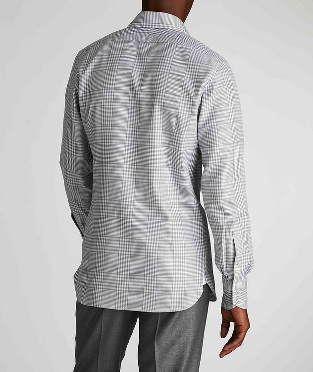 Classic Fit Gingham-Houndstooth Dress Shirt picture 3