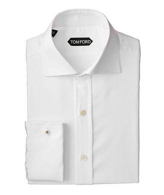 TOM FORD Contemporary Fit Plaid Dress Shirt