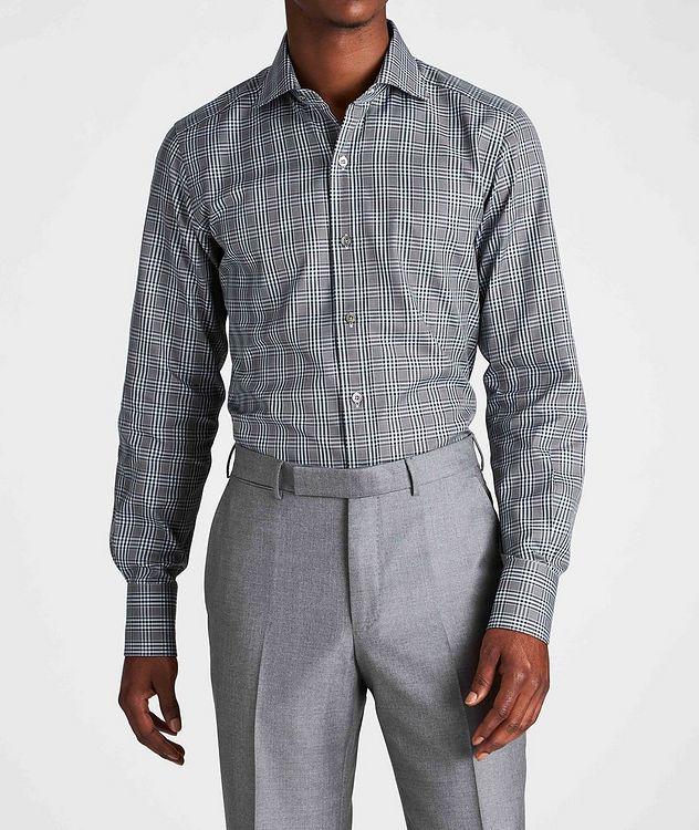 Classic Fit Plaid Dress Shirt picture 2