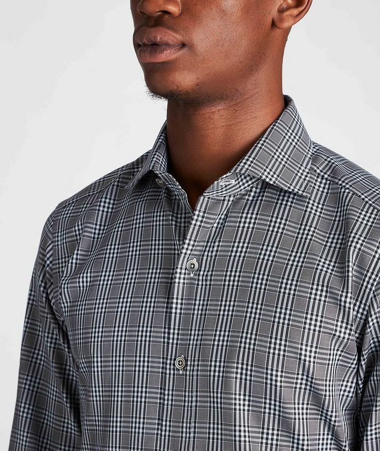 Classic Fit Plaid Dress Shirt image 3
